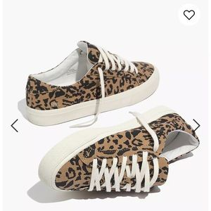 Madewell Leopard Sneakers